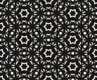 Delicate stars seamless pattern. Geometric ornament texture. royalty free illustration