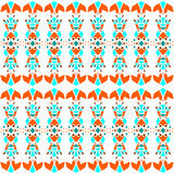 Delicate vintage color ornament seamless pattern Royalty Free Stock Image