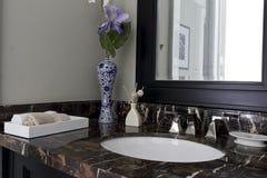 Delicate wash basin Stock Photos