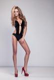 Delicate woman stock photos