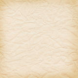 Delicate yellow background crumpled paper Stock Photos