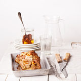 Delicately roasted pork Stock Photography