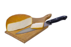 Delicatessen cheese Stock Photography