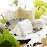 Delicatessen cheese Stock Photo