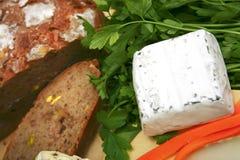 Delicatessen cheeses Stock Photography