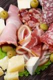 Delicatessenfijne vleeswaren Royalty-vrije Stock Afbeelding
