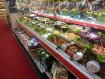 Delicatessenwinkel Stock Foto