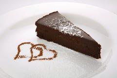 delicia σοκολάτας κέικ στοκ εικόνα με δικαίωμα ελεύθερης χρήσης