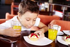 Delicious! Stock Photography