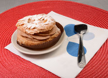 Almond cake Royalty Free Stock Photography