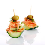 Delicious appetizer Royalty Free Stock Images
