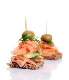 Delicious appetizer Royalty Free Stock Image