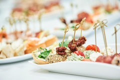 Delicious appetizer close-up Royalty Free Stock Photography