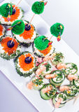 Delicious  appetizer Royalty Free Stock Photo