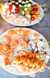 Delicious appetizers Royalty Free Stock Photos