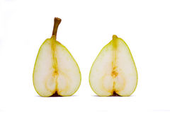 Delicious appetizing ripe pear Royalty Free Stock Photos