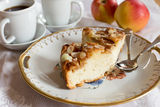 Delicious apple cake Royalty Free Stock Photos