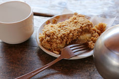 Delicious Apple Crisp Stock Photography