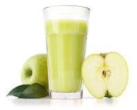 Delicious apple juice Stock Photos