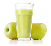 Delicious apple juice Stock Images