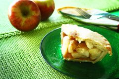 Delicious apple pie Royalty Free Stock Photography