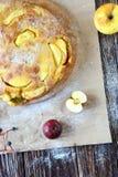 Delicious apple pie with honey Royalty Free Stock Photos