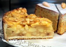 Delicious apple tart Royalty Free Stock Photos