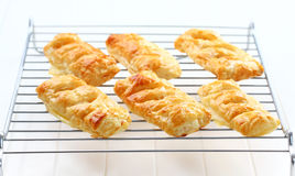 Delicious apple turnovers Stock Photo