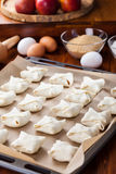 Delicious apple turnovers Royalty Free Stock Photos