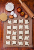 Delicious apple turnovers Stock Photos