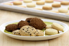 Delicious assorted cookies Royalty Free Stock Image