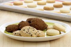 Delicious assorted cookies Stock Photo
