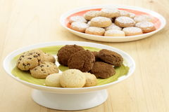 Delicious assorted cookies Stock Image