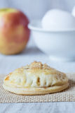 Delicious autumn apple hand pie with eggs Stock Photography