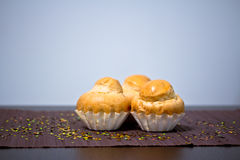 Delicious bakery, French muffin Royalty Free Stock Images