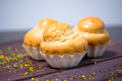 Delicious bakery, French muffin Royalty Free Stock Photo