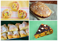 delicious bakery products Royalty Free Stock Image