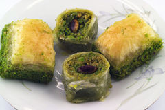 Delicious Baklava Sweet Royalty Free Stock Images