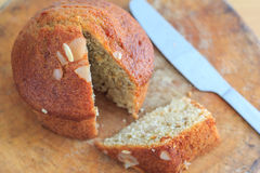 Delicious banana breads Royalty Free Stock Image