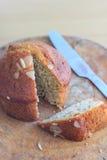 Delicious banana breads Stock Photo
