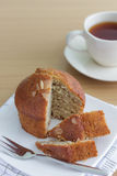 Delicious banana breads Royalty Free Stock Images