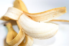 Delicious banana fruit. Healthy natural fruit banana for evey day Royalty Free Stock Photography
