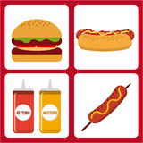 Delicious barbecue barbeque. Delicious barbecue design, vector illustration eps10 graphic stock illustration