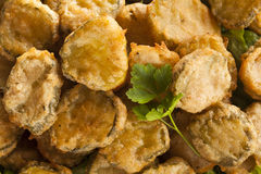 Free Delicious Battered Fried Pickles Royalty Free Stock Photography - 40839307