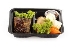Delicious BBQ ribs Stock Image
