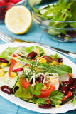 Delicious bean and corn salad Royalty Free Stock Images