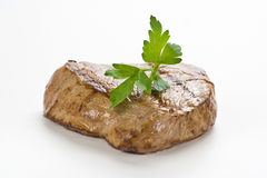 Delicious beef grilled Stock Photos