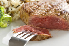 Delicious beef grilled Royalty Free Stock Photography