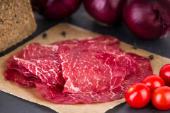 Delicious beef ham Royalty Free Stock Photography