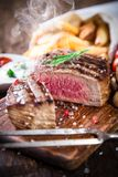 Delicious beef steak Royalty Free Stock Photography